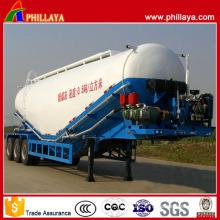 Capacity Customized 3 Axles Bulk Powder Tanker Semi Trailer