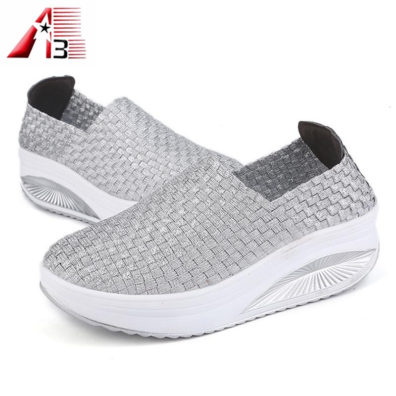 Woven Elastic Shoes