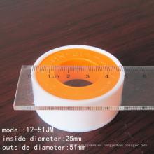 Cinta de teflón de 25mm PTFE de alta calidad con CE Certifcate