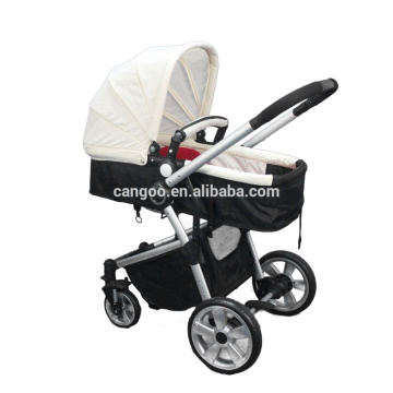 Germany standard luxury fancy baby stroller baby pushchair with four wheels