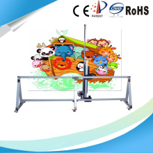 Vertical Wall Printer For Company Decoration