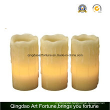 Flameless LED Wax Candle with Drip Effect