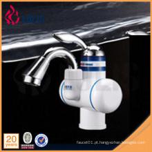 Novos produtos torneira de água elétrica de aquecimento único para lavatório