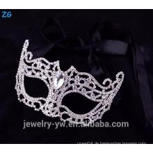 Großhandel Kristall Party Masken, Maskerade Masken mit Stein