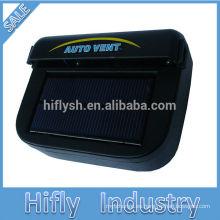 HF-601 Nuevo 1W Auto Cool Solar Power Car Fan alimentado por energía solar ventilador eléctrico