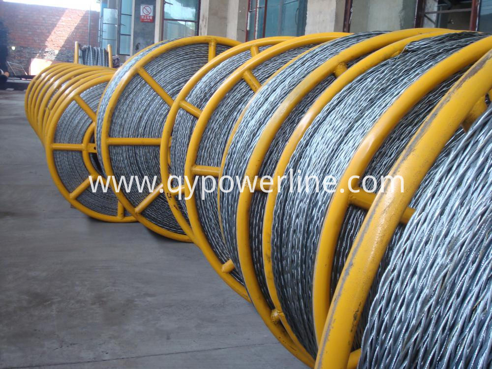 High Strength Anti Twist Braided Wire