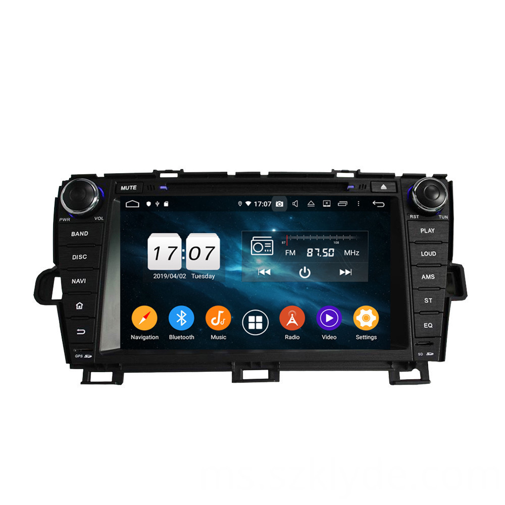 car media system for Prius