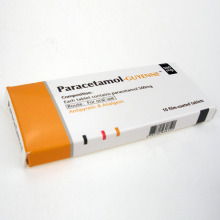 Guyenne Antiprretic & Analgestic Paracetamol 10 tabletas 500mg
