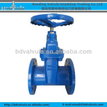 DIN Z45X-10/16 ductile iron soft sealing gate valve