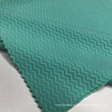 Jacquard Polyester And Spandex Fabric