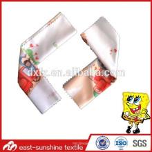 Изготовленная на заказ цифровая печать, микрофибровая ткань, специальная ткань из микрофибры с различным логотипом