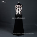 RSE670 Boat Neckline Champagne And Black Two Piece Mother Of The Bride Lace Dresses