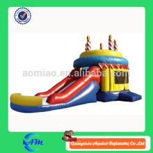 Торт ко дню рождения детский подарок надувной вышивальщик слайд надувной комбо подарок на день рождения