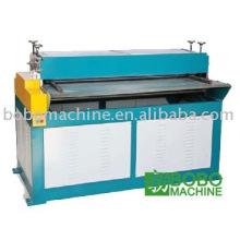 Hoja de metal que rebordea la máquina
