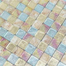 Mosaic Crystal Mixed Color Porcelain Tiles