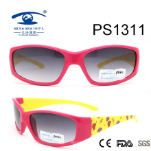 New Arrival Colorful Kid Plastic Sunglasses (PS1311)