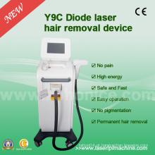 Y9c 808 diodo máquina de depilação a laser