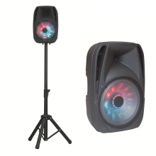 8 Inch Colorful Trolley Speaker with Speaker Stands F25D