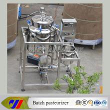 Pasteurizador del lote de la leche del desayuno de la fuente eléctrica 50L