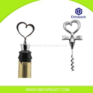 Spiral Corkscrew Wine Opener with Pale Handle