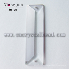 lámpara chandelier de cristal de 22x100mm piezas perlas prisma