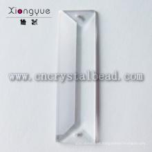 lustre de cristal de 22x100mm peças de grânulos de prisma