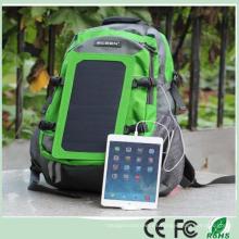 Verde Energía Alta Capacidad 7W Solar Cargador Mochila para el iPad del teléfono móvil (SB-179)