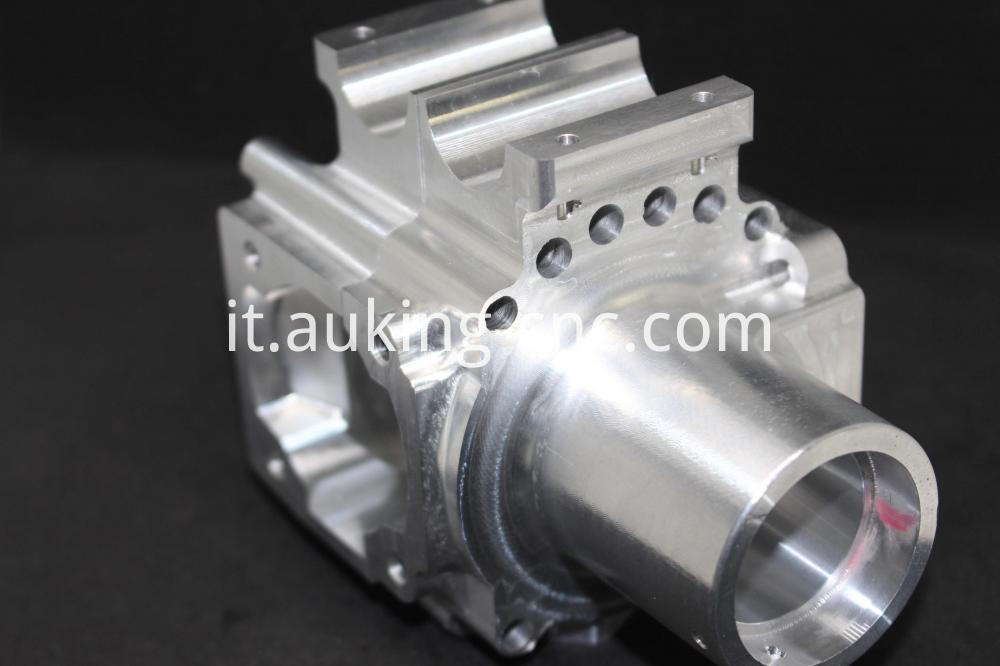 Precision Aluminium Parts gear housing