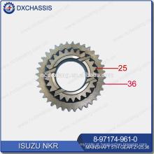 Engrenagem genuína do eixo principal 5TH da transmissão de NKR Z = 25: 36 8-97174-961-0