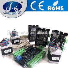 Kit de motor paso a paso 3Axis Cnc con placa de interfaz, controlador, fuente de alimentación