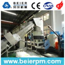 Filme plástico de 80-120kg / H PE / PP / saco que recicl e peletização / linha de produção da aglomeração da granulação