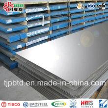 Placa de aço inoxidável de AISI 321 304L 309S 310S 316 316s 304 para a construção
