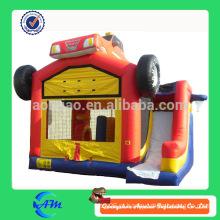 Telhado de veículo inflável combo corrediça inflável do bouncer