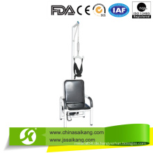 Powder Coated Stahlrahmen Cervical Traction Stuhl