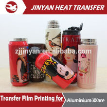 print for stainless steel cup heat transfer film