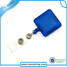 Novelty Round Plastic Yoyo Badge Reel for ID Cards