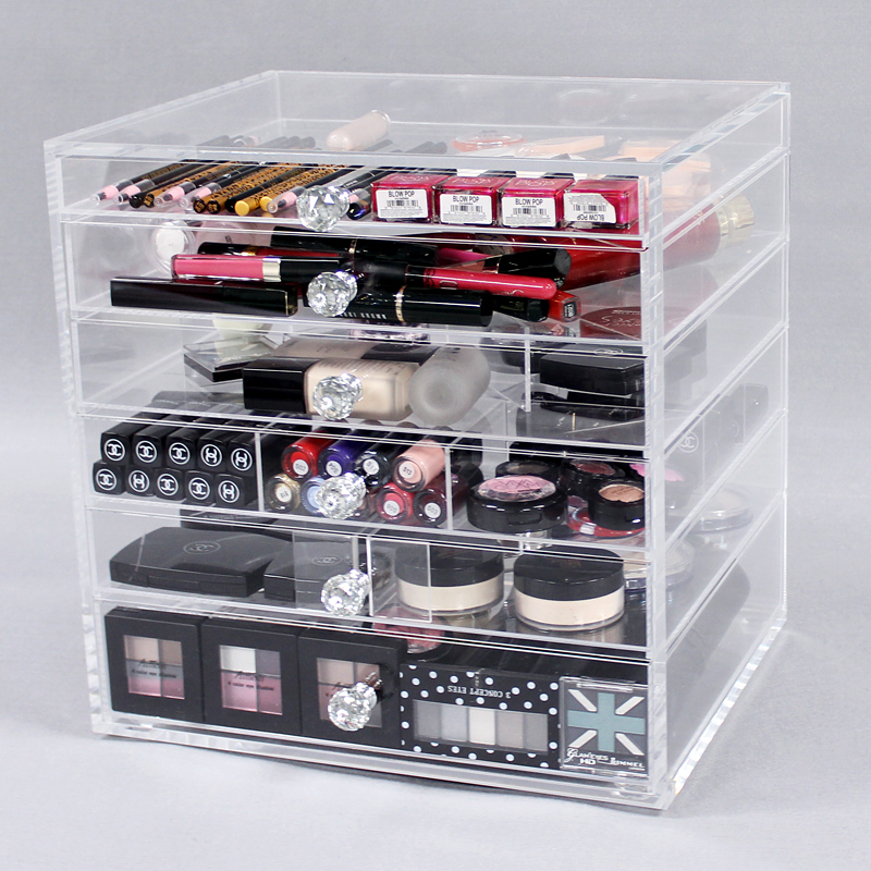 Cheap Acrylic Makeup Organizer Drawers