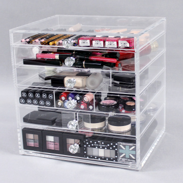 Goedkope acryl make-up organizer lades