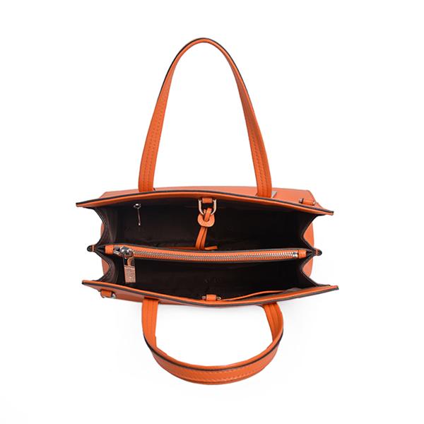 multi color handbag cheap pu leather big shoulder bag new design tote bag with wallet