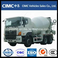 Caminhão do misturador concreto de Hino 6X4 8 a 10 Cbm