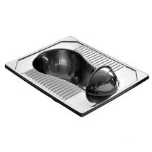 Stainless Steel Squatting Pan (JN49112D)