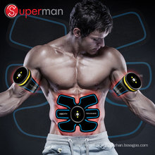 A máquina abdominal intensiva sem fio elétrica do instrutor do músculo para o corpo perde o peso Terapy