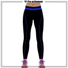 Полиэфирные красочные фитнес-брюки для активного отдыха с йогой