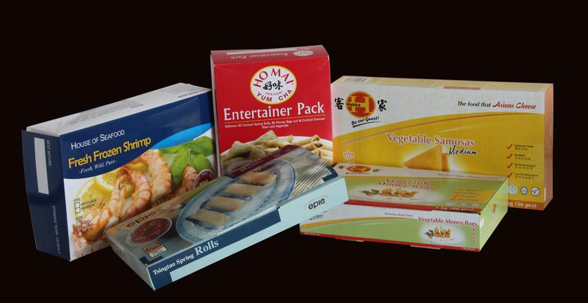 Frozen food paper box 2