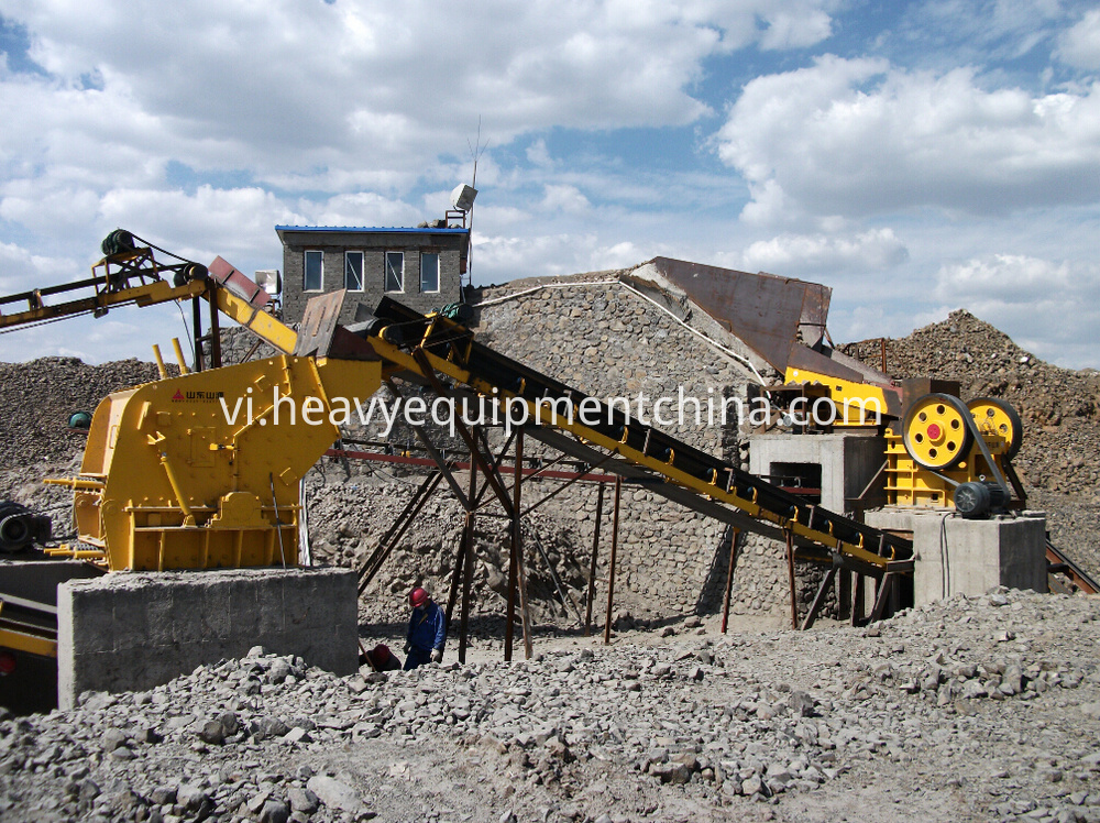 Stone Crusher Plant Process