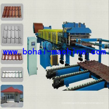 Máquina de construção / rolo de azulejo que forma a máquina