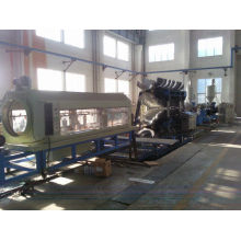 FT double wall plastic pipe/pvc pipe making machine