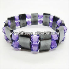 01B5002-1/new products for 2013/hematite spacer bracelet jewelry/hematite bangle/magnetic hematite health bracelets