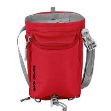 600d Polyester Custom Bouldering Chalk Bag Rock Climbing Chalk Bag with Adjustable Belt