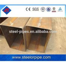 Grosor de pared gi cuadrado de acero precio del tubo por tonelada